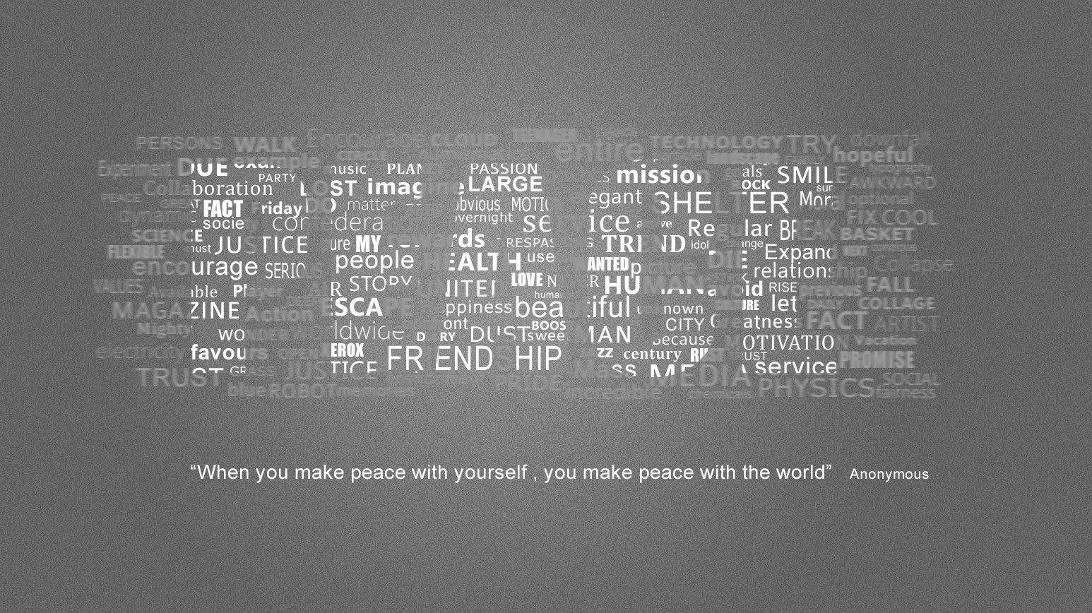Pin by psdworld photoshop tutorials on photoshop text effects in this photoshop tutorial we will learn how to create a beautiful typography wallpaper peace in photoshop baditri Image collections