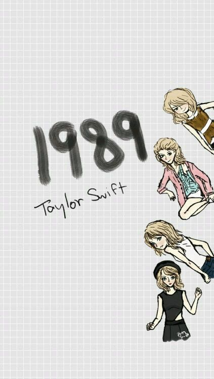 Taylor Swift 1989 -S   Swift In Mind   Pinterest   Dibujos de ...