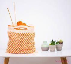 Afbeeldingsresultaat voor gehaakte tassen zelf maken