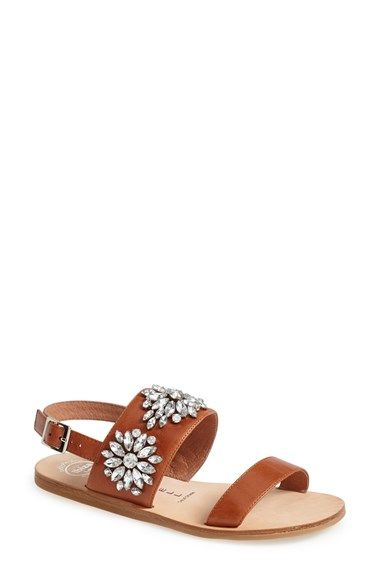 4d7ebfee53eae Free shipping and returns on Jeffrey Campbell  Dola  Jeweled Leather Sandal  (Women) at Nordstrom.com. Strappy