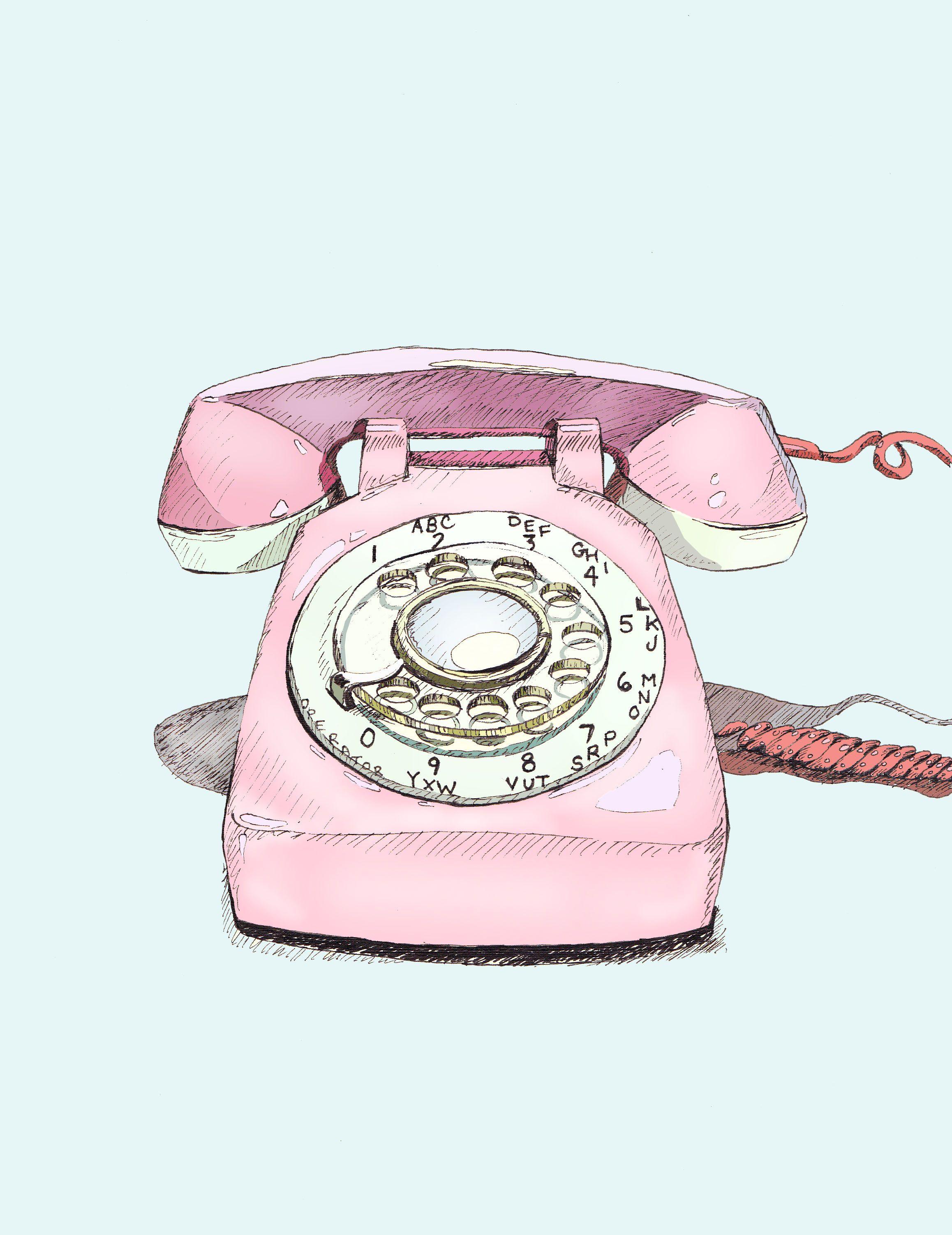 Rotary Phone By Foster Cranz Me Rotary Phone Phone Art Phone