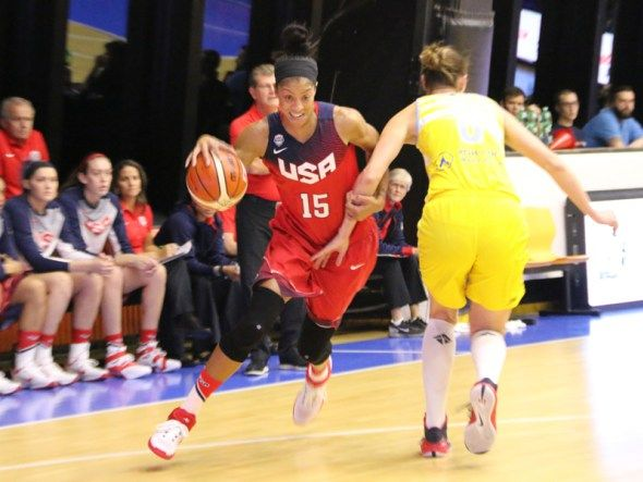 Q&A With Candace Parker