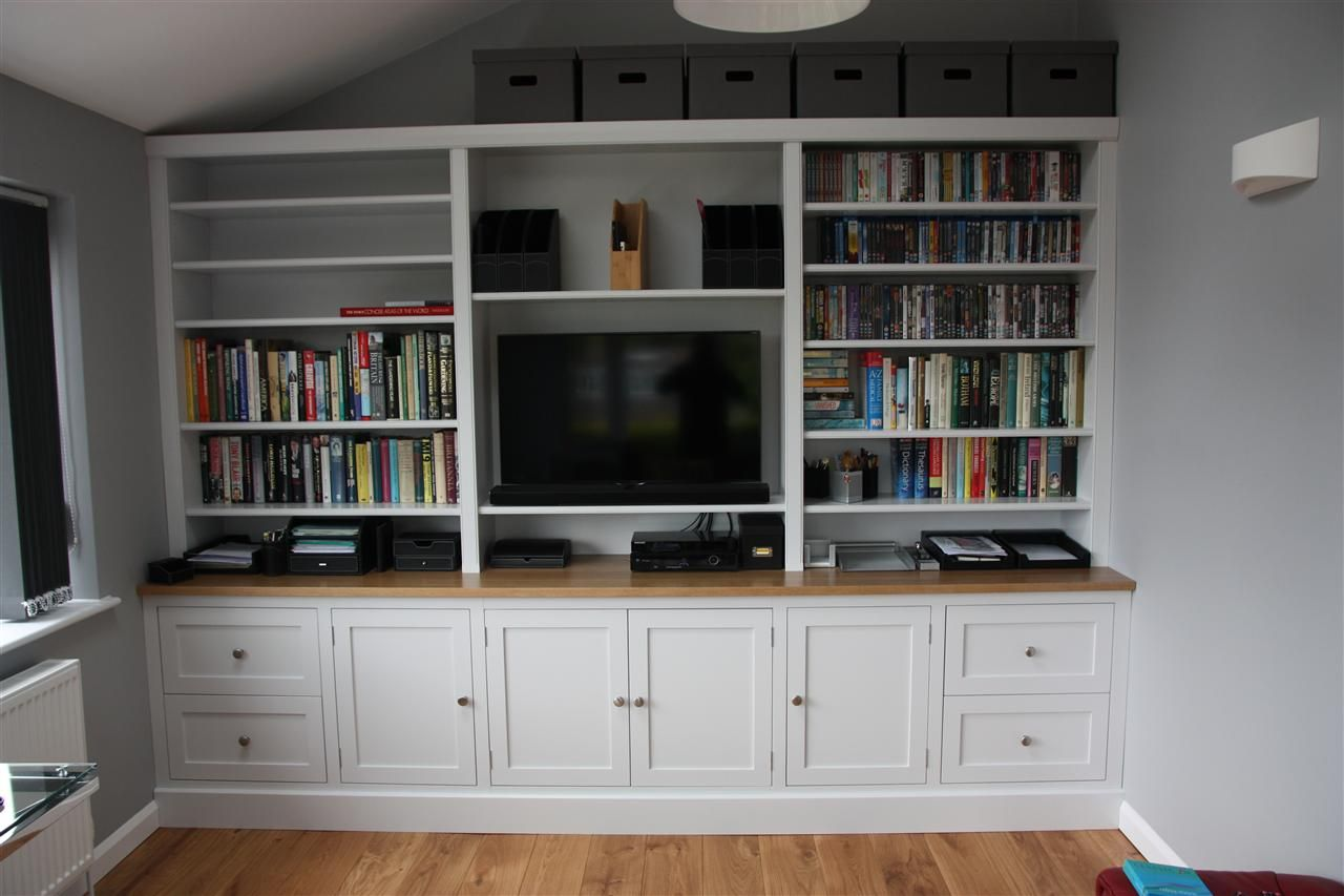 Tv Room Bookcase