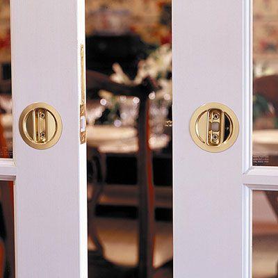 Johnson Hardware 174 Pocket Door Hardware This Lock Works For