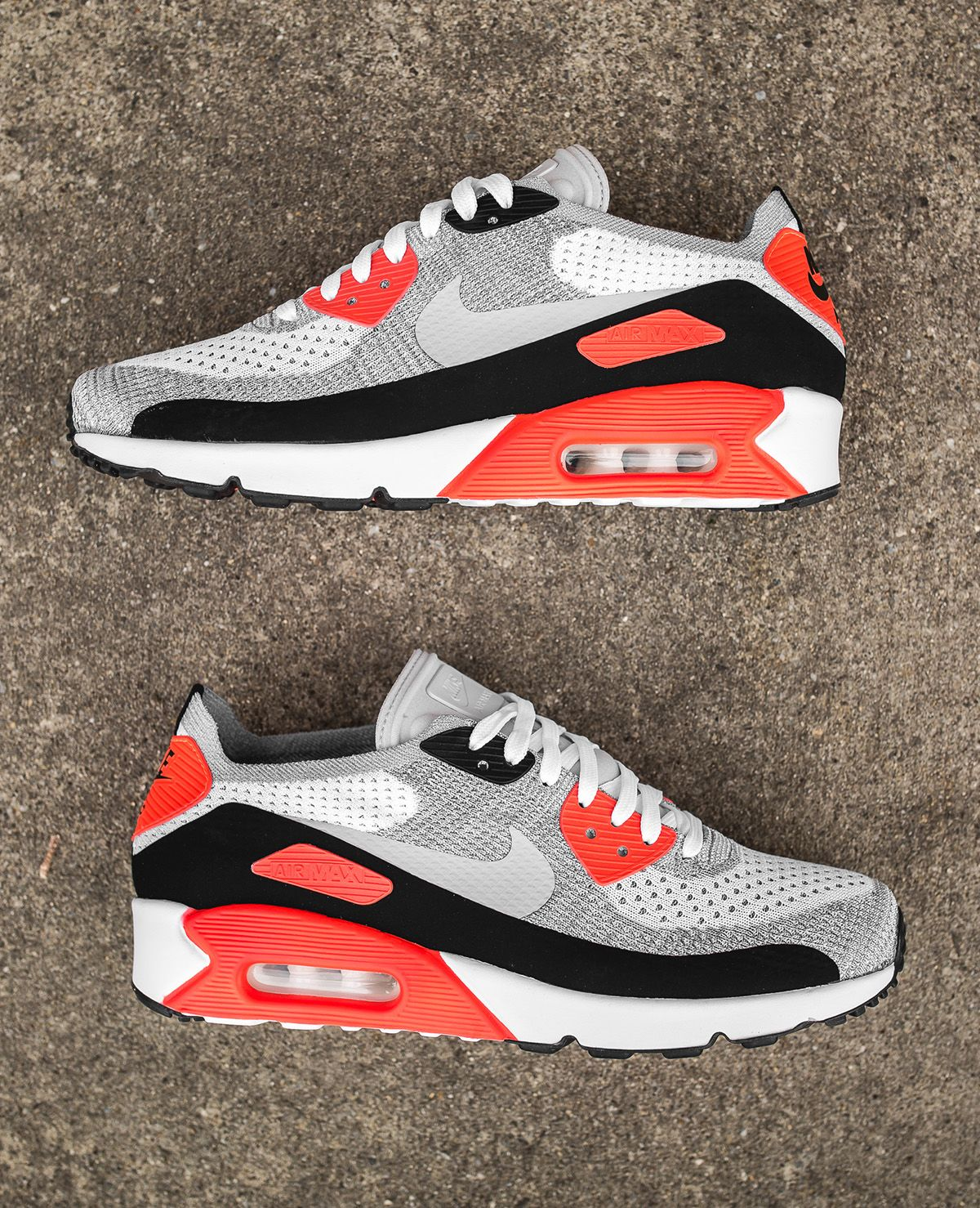 best service 9e468 b13b5 Nike Air Max 90 Ultra 2.0 Flyknit  Infrared  10 Detailed Pictures - EU Kicks