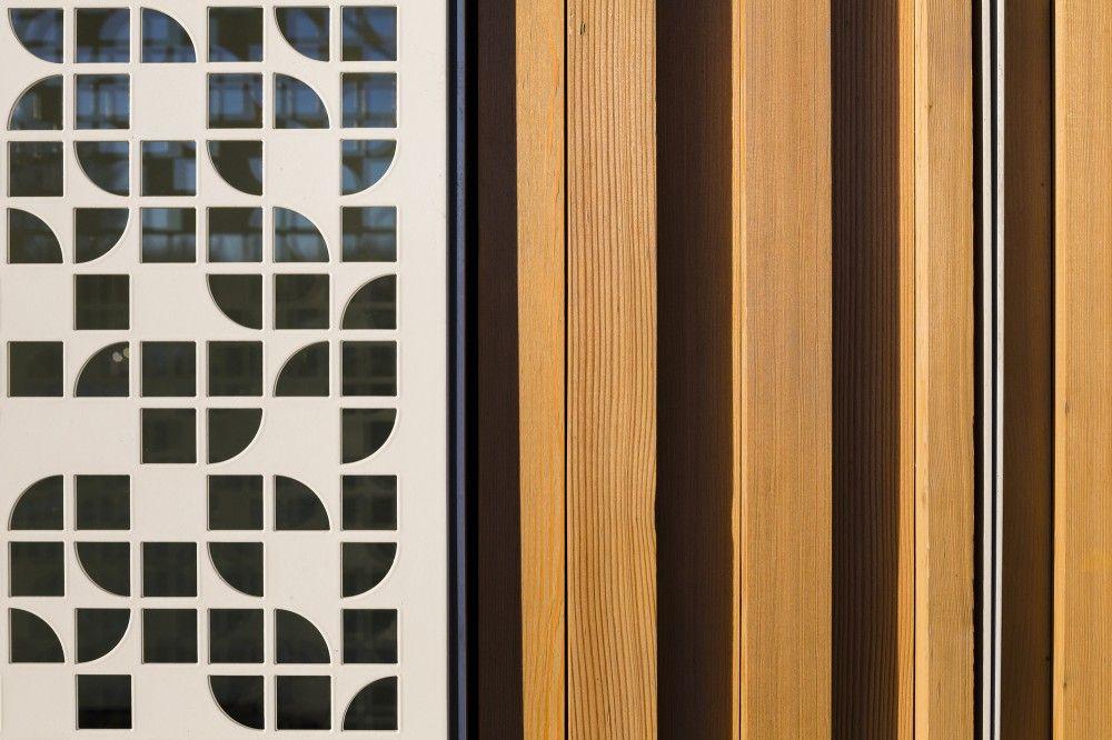 Gallery Of Moucharabieh New School Y Architectes Gautier Conquet 9 Moucharabieh Batiment Et Architecture