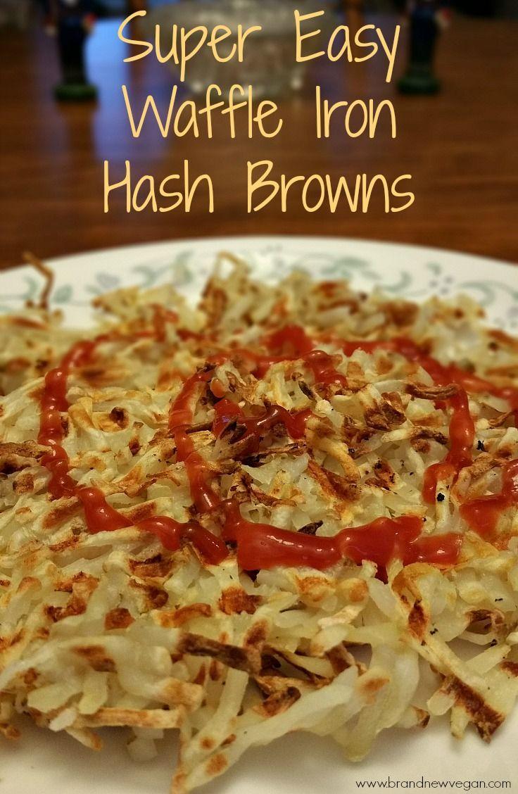Waffle Iron Hash Browns Recipe Food recipes, Waffle