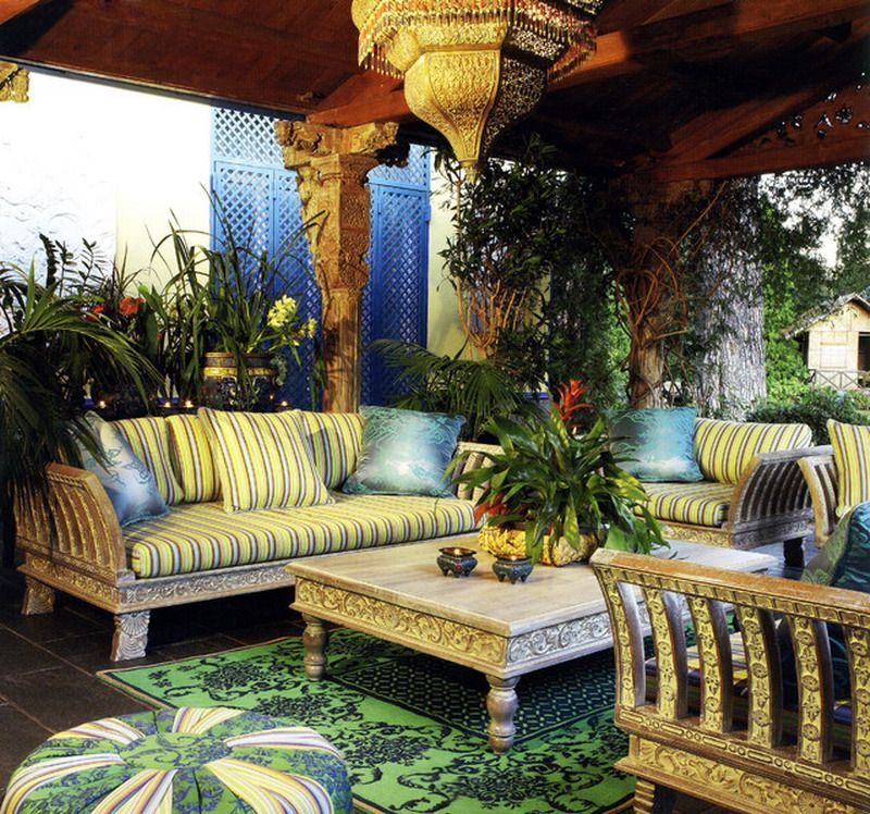 Moroccan Style Patio Furniture