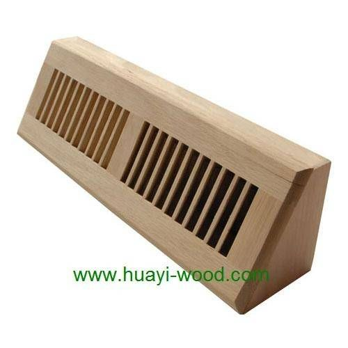 Baseboard Diffuser Wood Vents Wall Registers