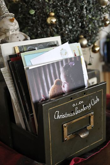6 Degrees: STOP. Don't Throw Them Away!  Keep those Christmas cards