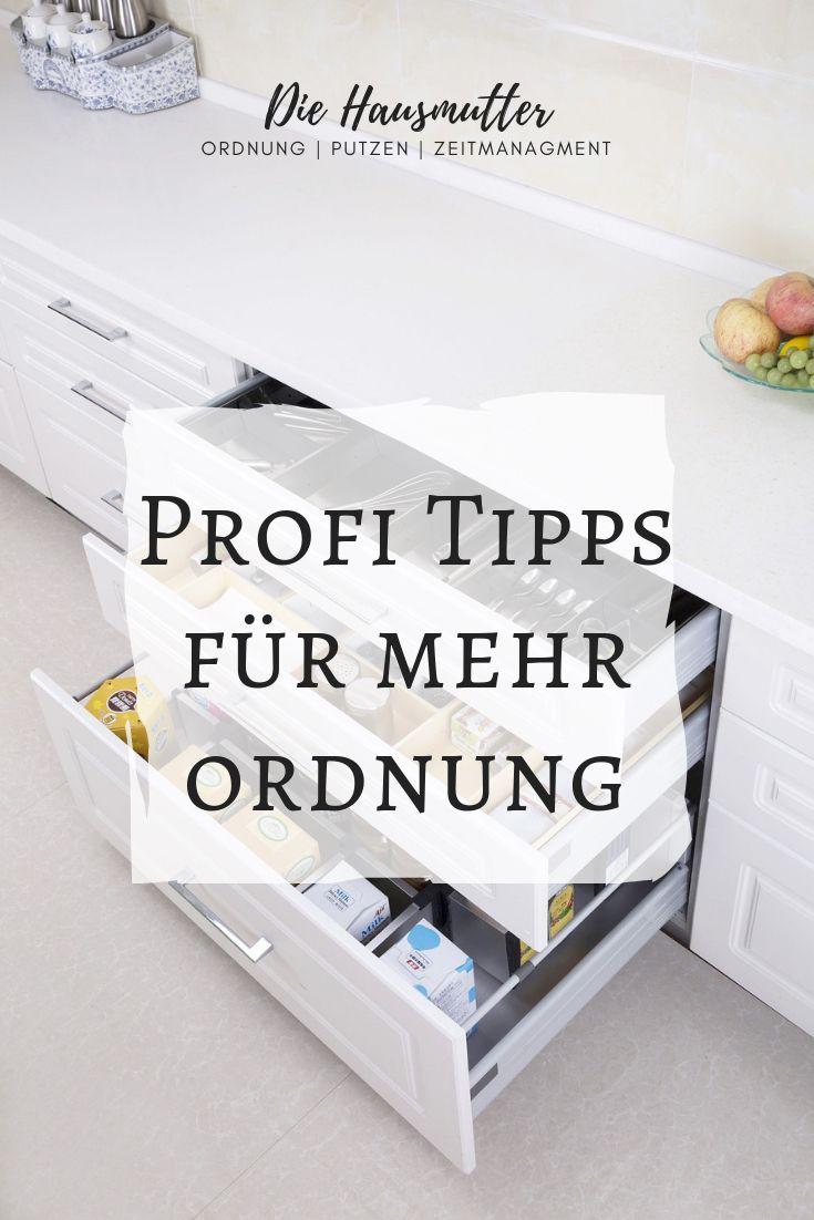 Ordnungs-Tipps für Hausbewohner