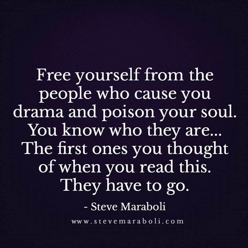 af7c9f99ed41 Free Yourself From Dramatic and Mean People  freeyourself