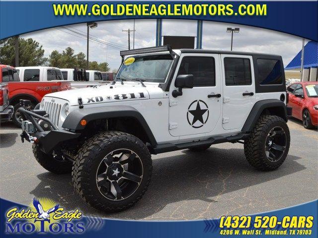 2015 Jeep Wrangler Unlimited At Golden Eagle Motors In Midland