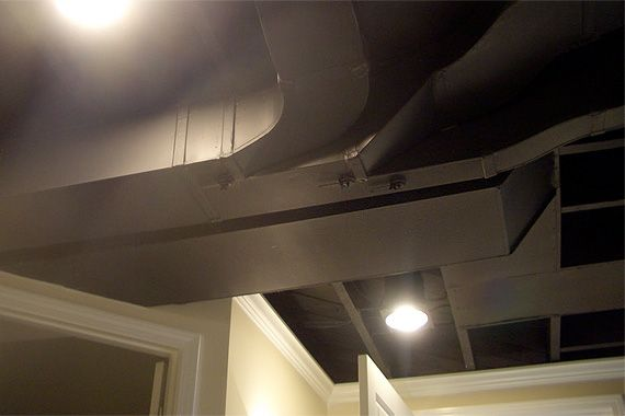 finishing a basement ceiling basement ceilings basements and