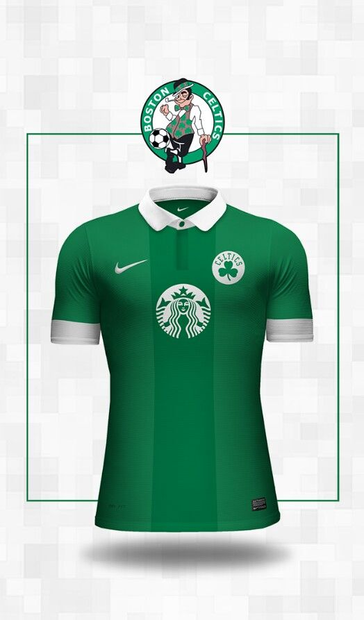 competitive price 302d8 5ceb6 Celtics Soccer Jersey | 3 | Soccer uniforms, Football shirts ...