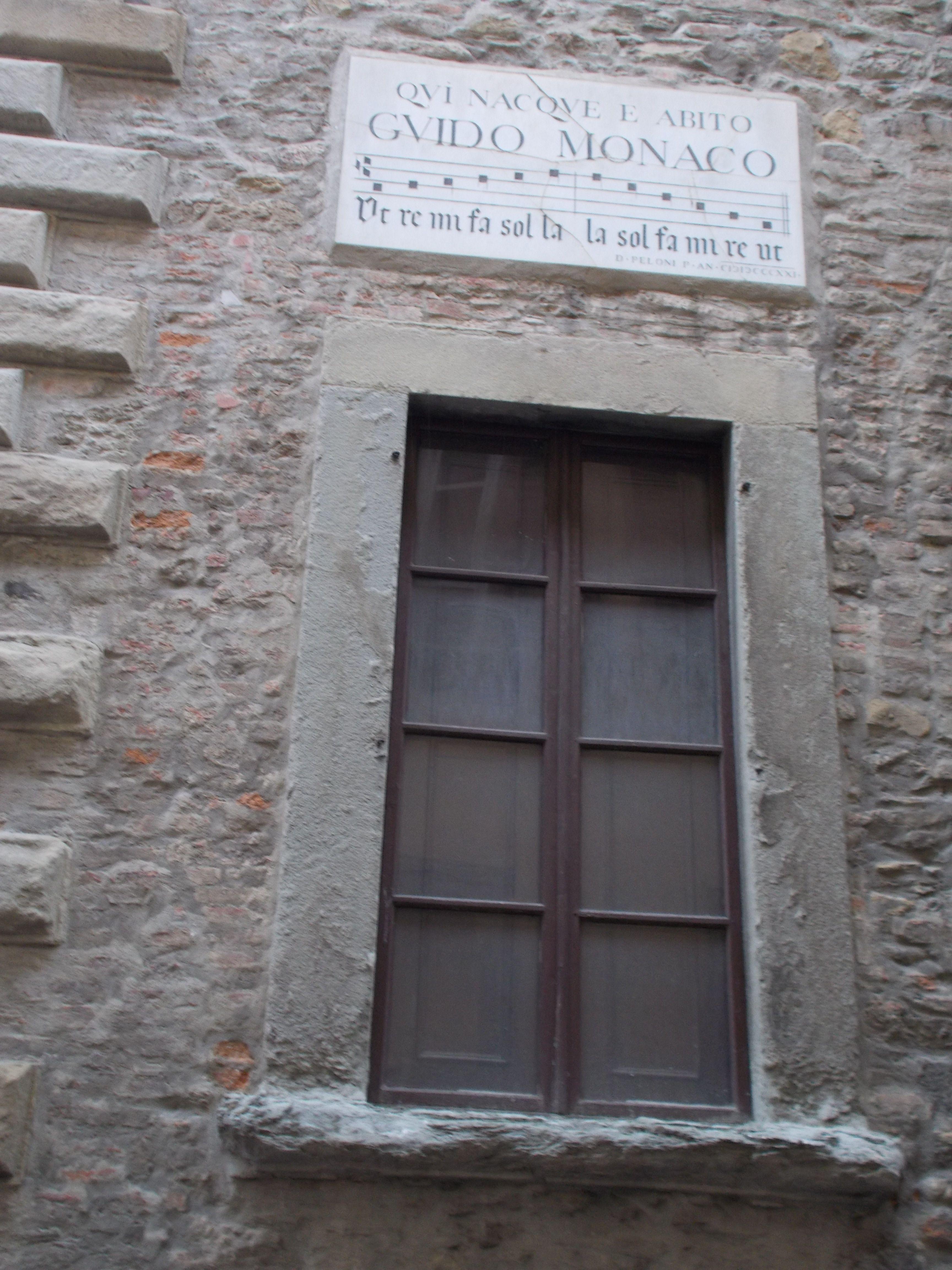 Casa di Guido Monaco, Arezzo - Italia