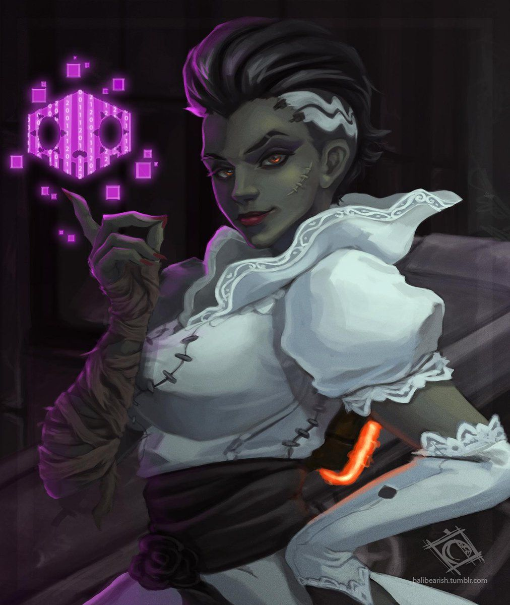 Overwatch Halloween Skins 2020 Sombra 🌹🐺Chloe💀🌹 on Twitter | Sombra overwatch, Overwatch fan art