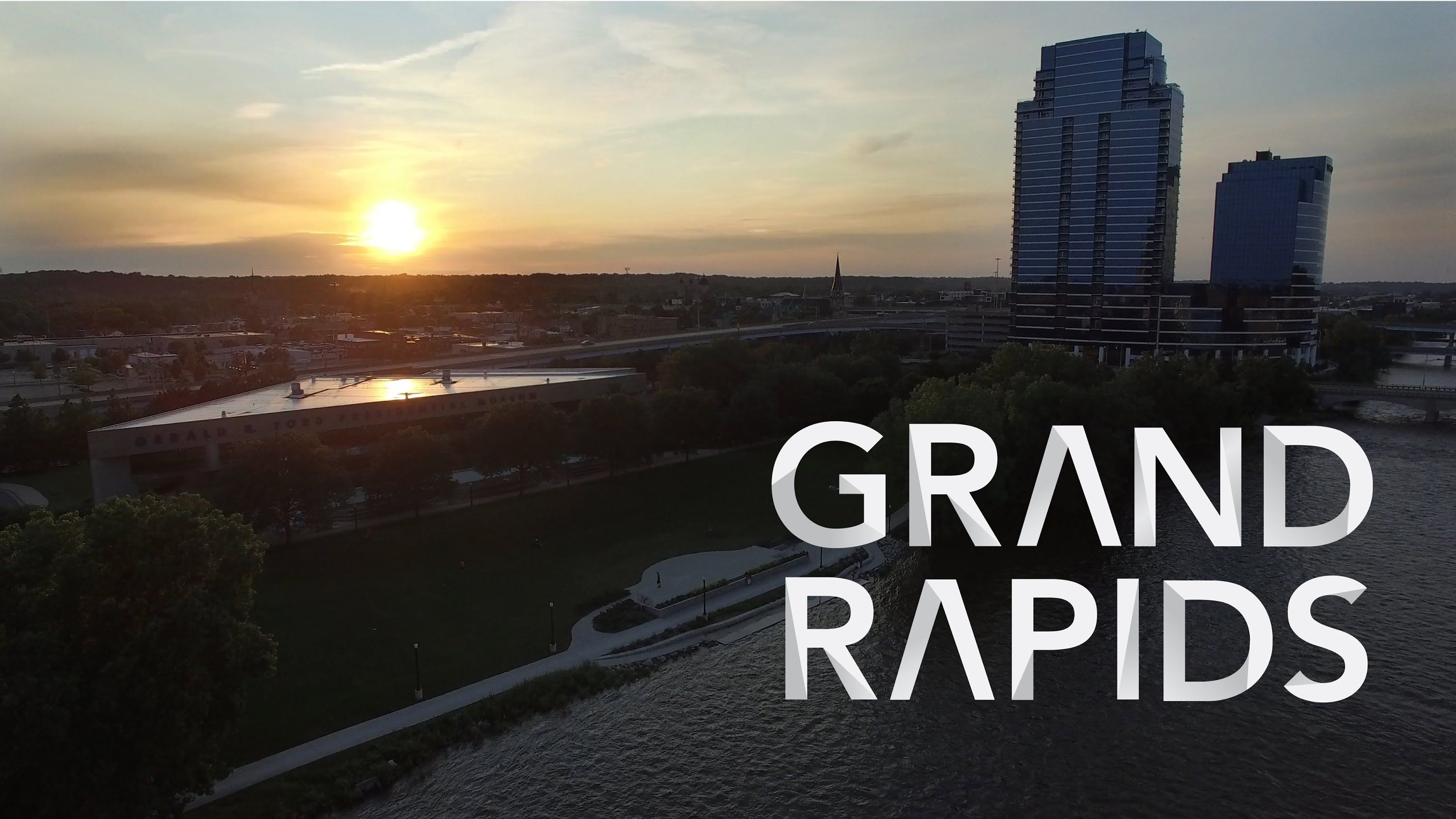 Ultra Hd 4k Drone Series Grand Rapids Michigan