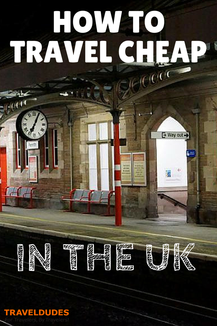 How to Travel Cheaply in the United Kingdom #travelengland