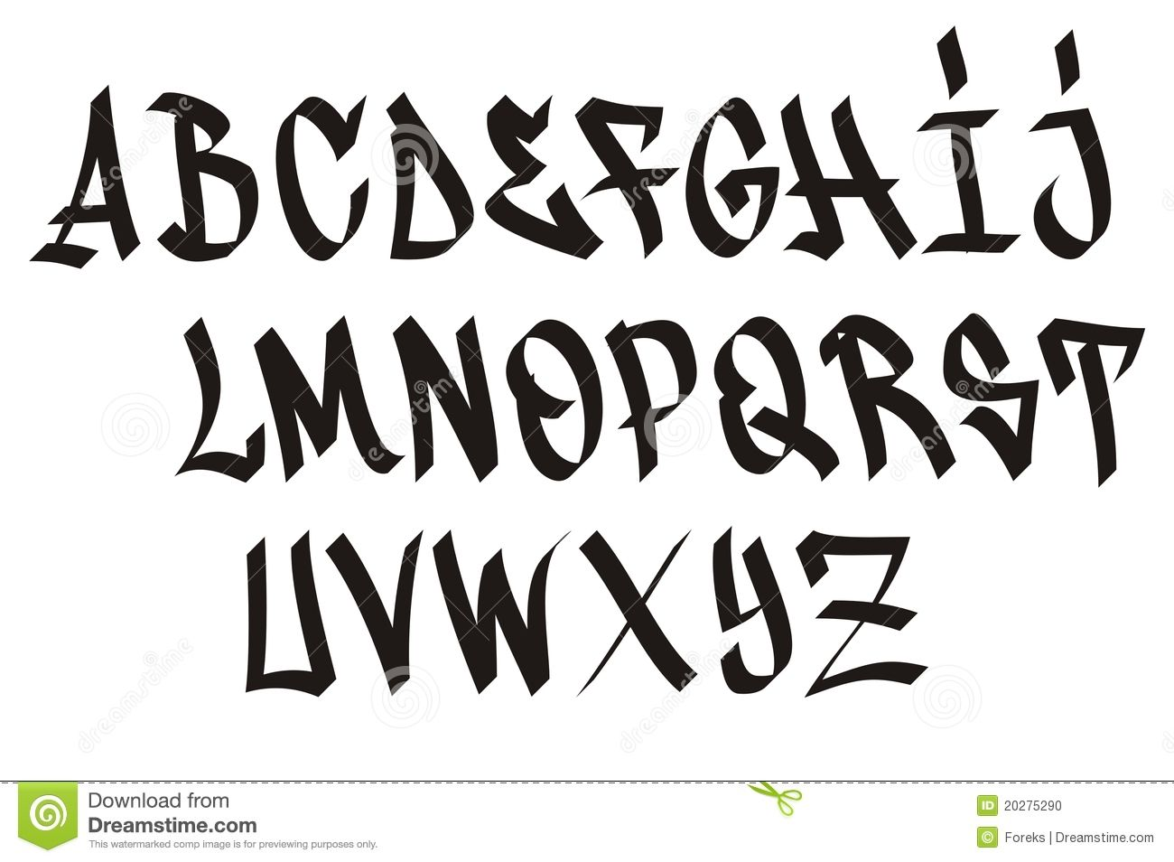 Graffiti font download from over 32 million high quality stock photos images vectors sign up for free today image 20275290
