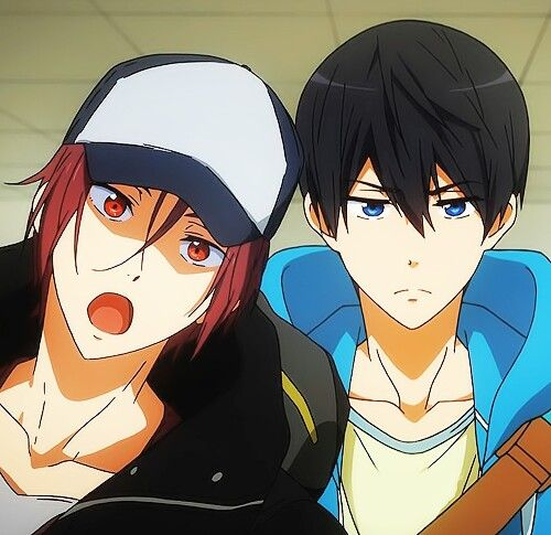 Free! Sightseeing! Man, hearing Rin speak in English was awesome!