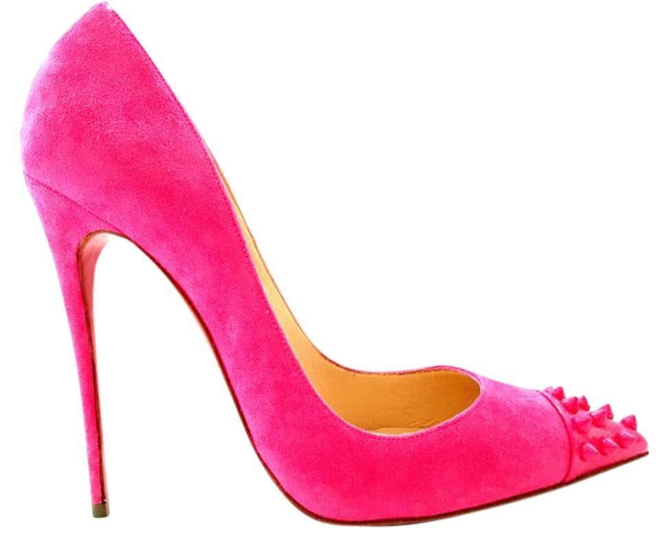 Christian Louboutin | Hot Pink Geo