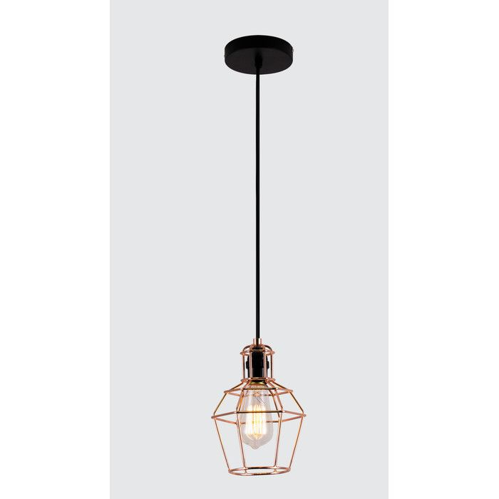 Bazz vesta 1 light mini pendant reviews wayfair