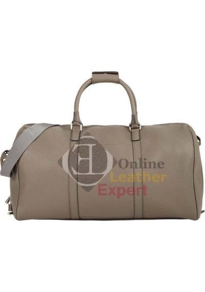 Men Duffle Leather Bag