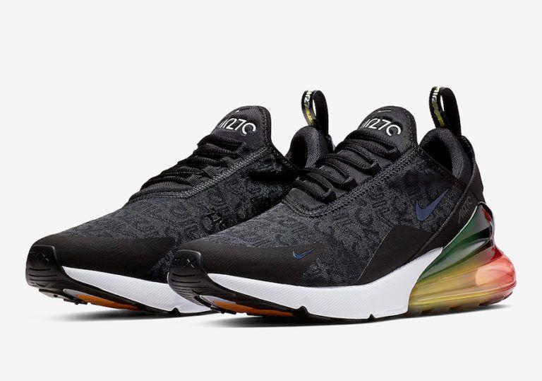 Nike Air Max 270 Black Multi Color AQ9164 003 Release Date
