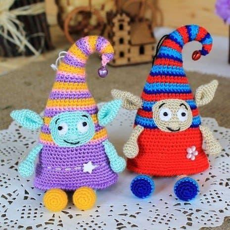 Häkeln Sie Elf Puppe frei Amigurumi Muster | Häkeln | Pinterest ...
