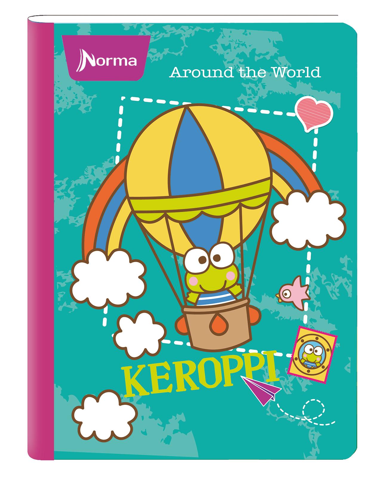 Cuadernos Keroppi