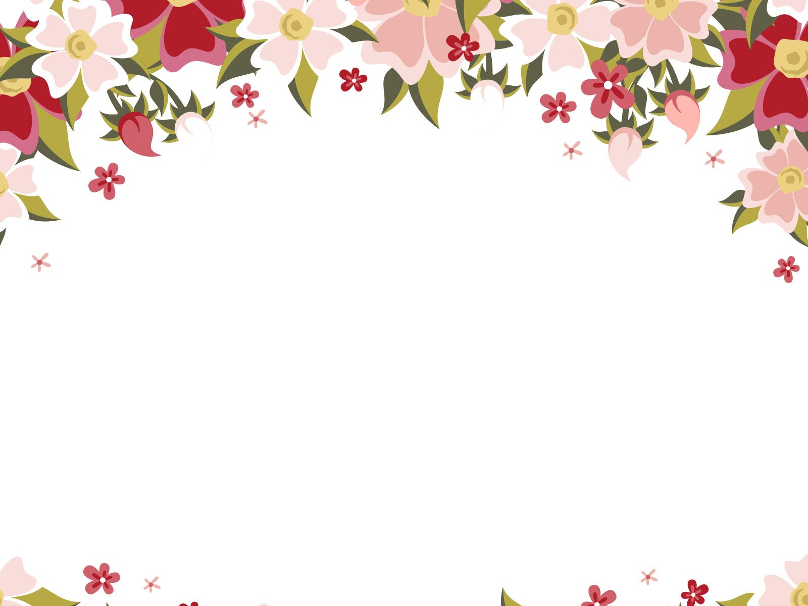Flowers Ppt Backgrounds Templates Download Free Flowers