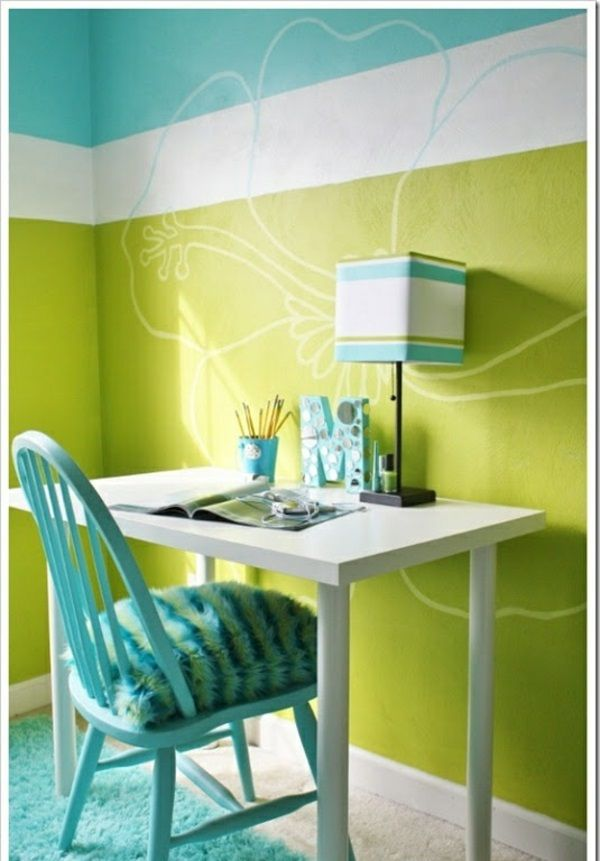 tischlampe ideen im jugendzimmer frisch wandfarben | ideen in ... - Kinderzimmer Farben Ideen Mdchen