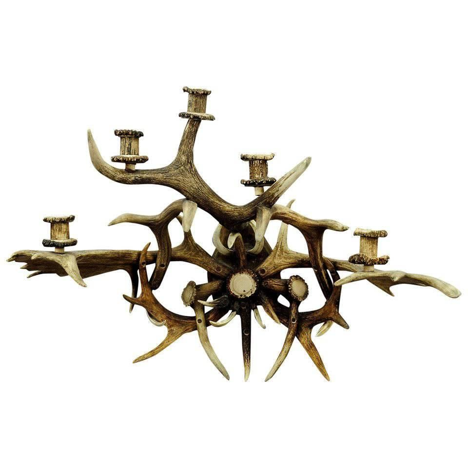 images rustic lights corridor whitetail wall style antler brown bedside lamps pinterest on lighting candle sconce buyantlerchandelier best sconces