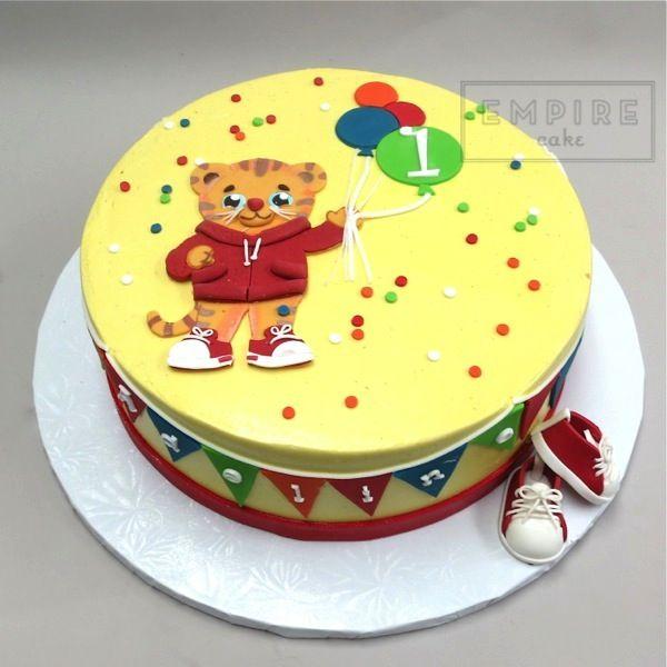 Daniel The Tiger Birthday Cake Google Search Daniel The Tiger