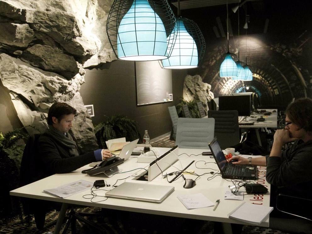 Ecco gli uffici di Google: futuristici, colorati e pieni di sorprese