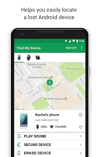 Google Find My Device APK (With images