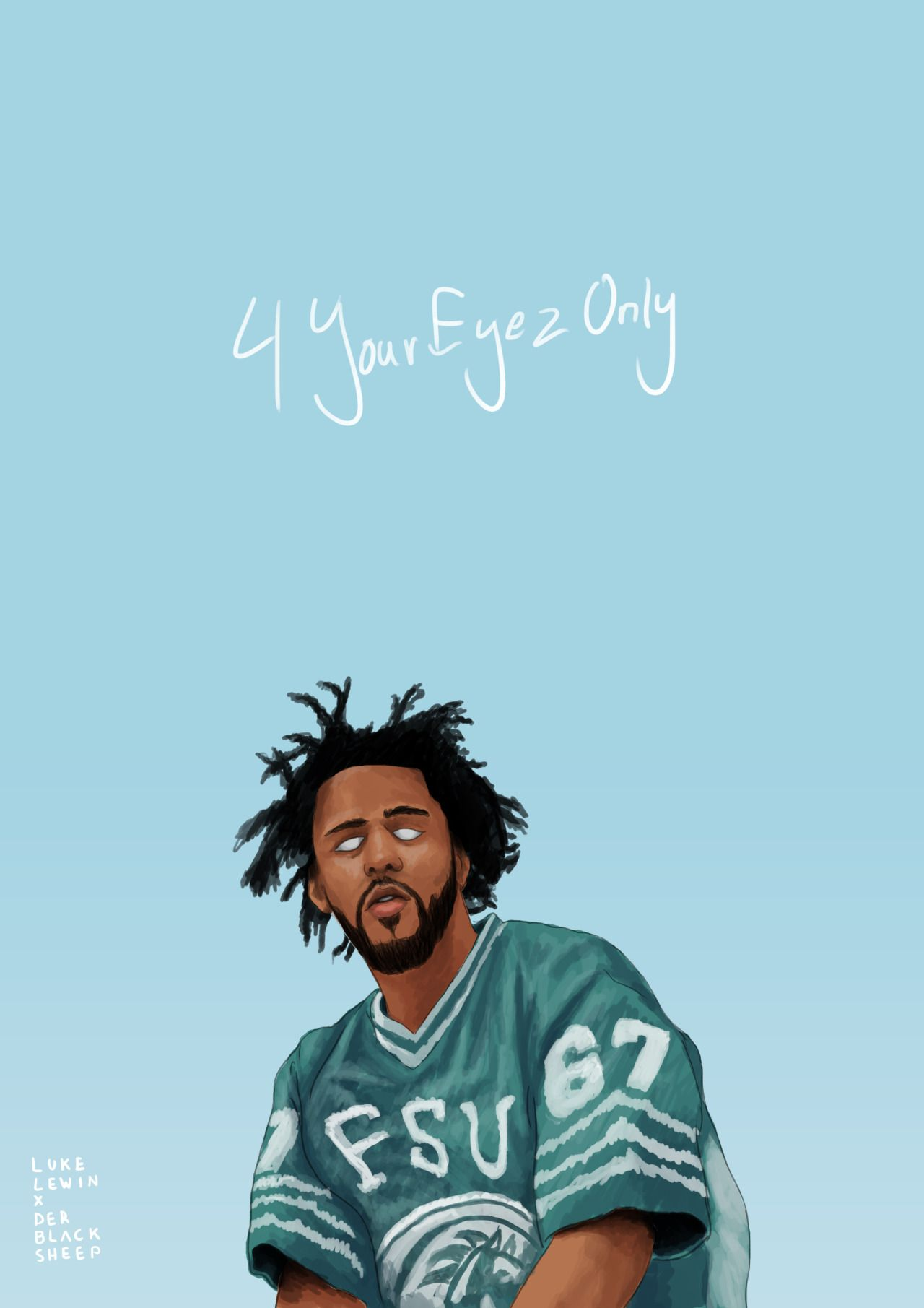 Graphic Designer Photography Drawer J Cole Hip Hop Art J Cole Art