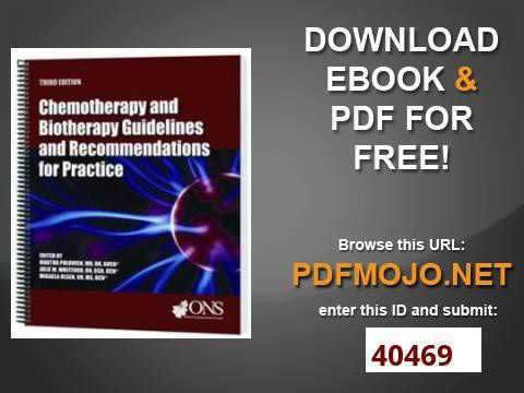 Chemotherapy Biotherapy Certification - Chemotherapy and Biotherapy ...