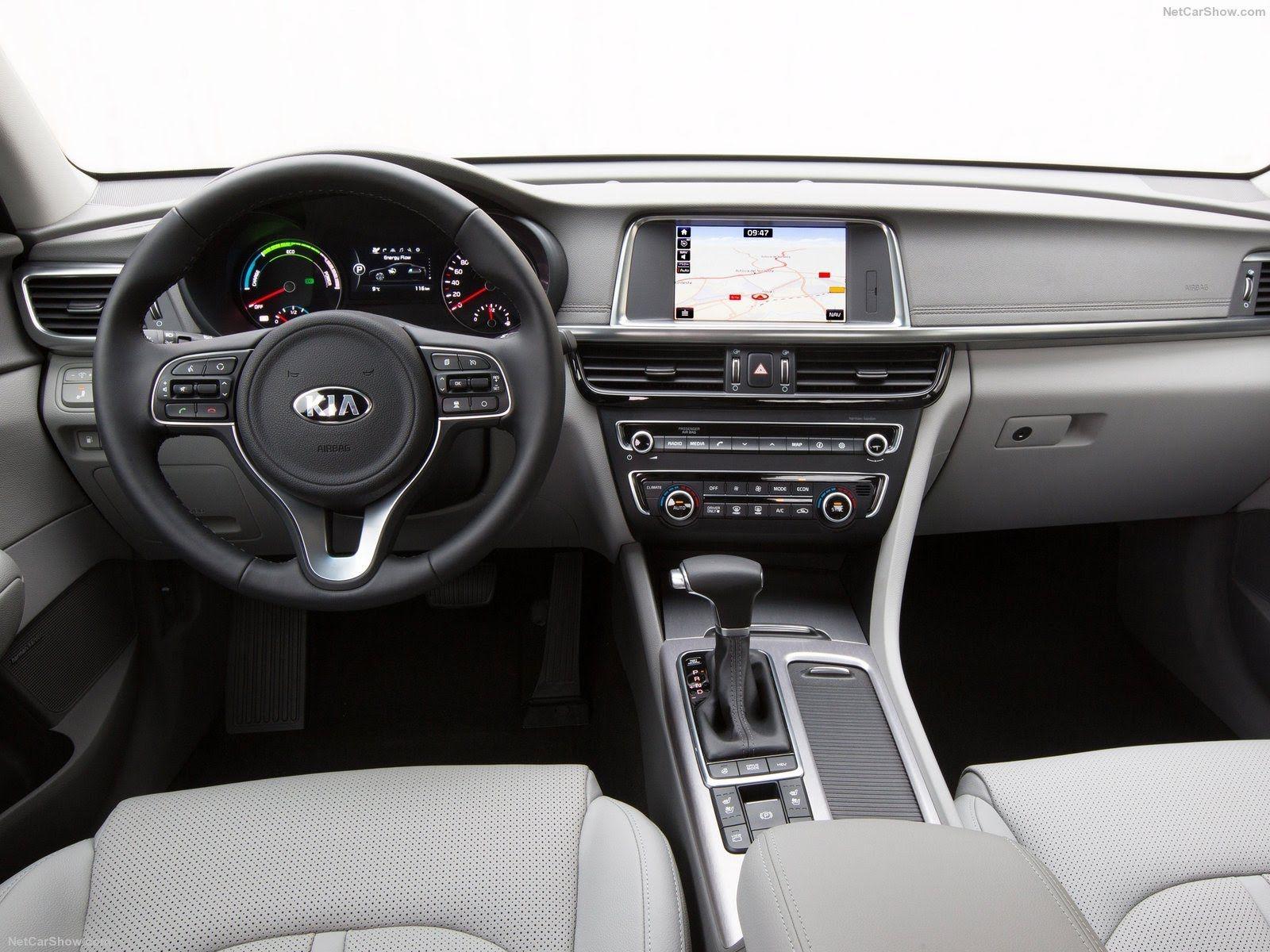 2017 Kia Optima Plug In Hybrid Eu Version Pure Electric Range Kia Optima Kia Kia Optima Interior