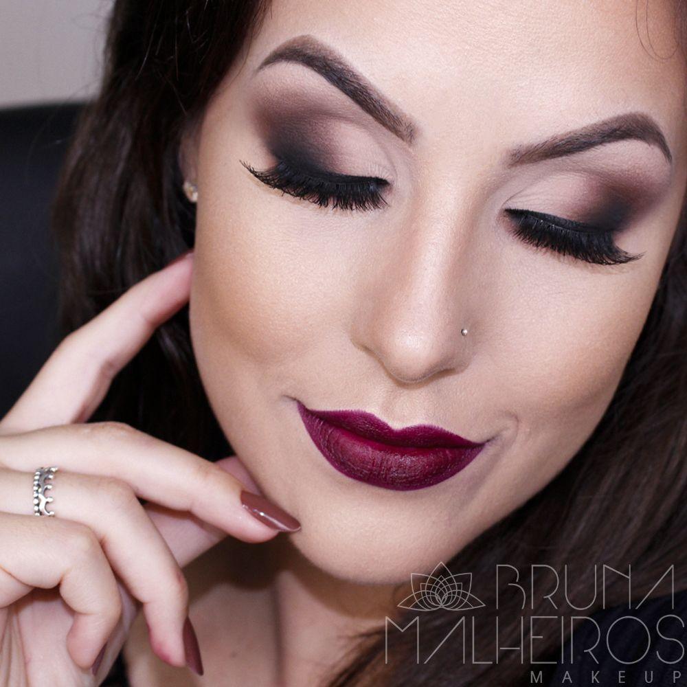 Maquiagem completa Outono Inverno 2016   Menina Bunita ...