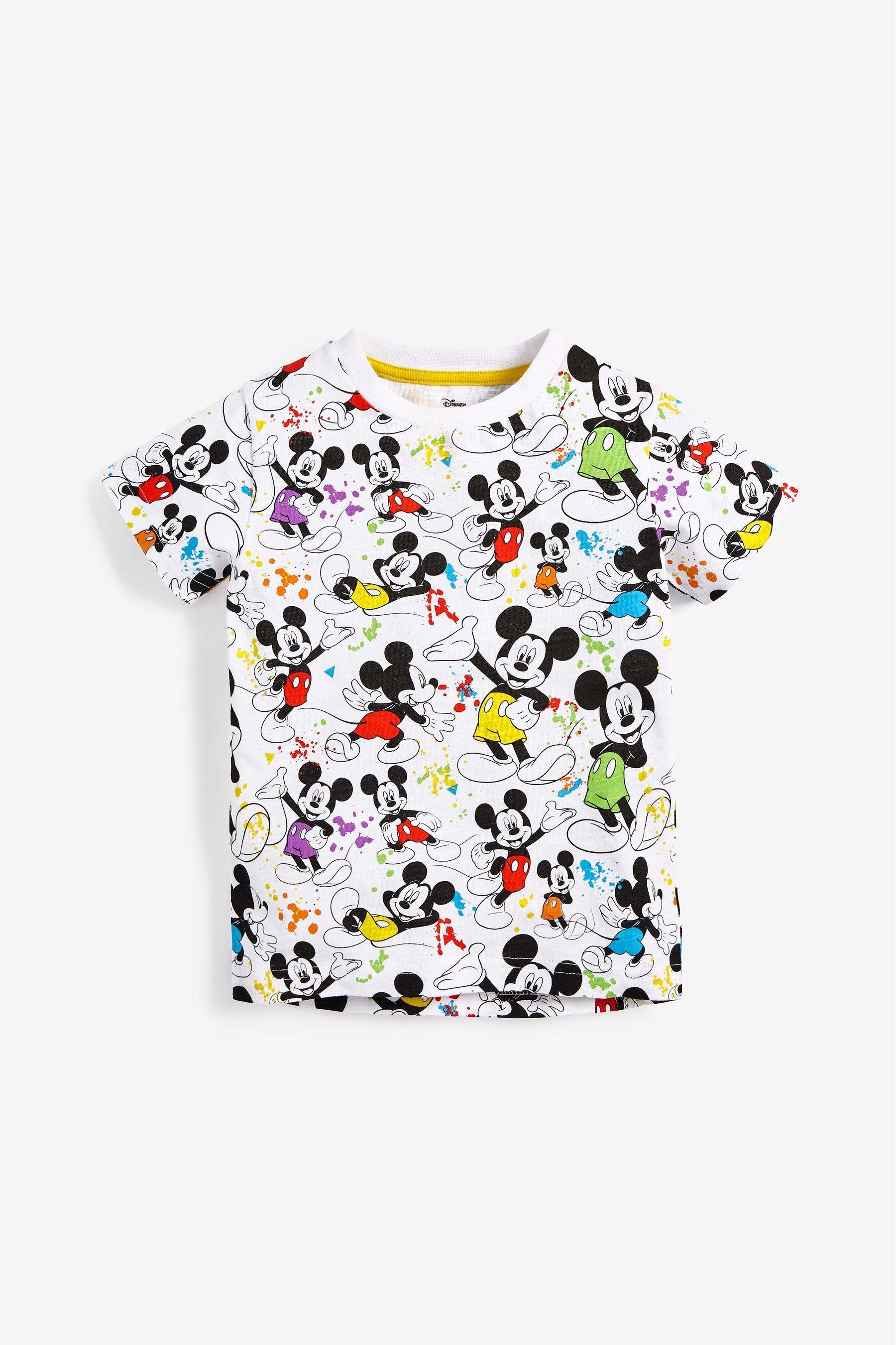 Garçons Disney Mickey Mouse short /& t-shirt Set