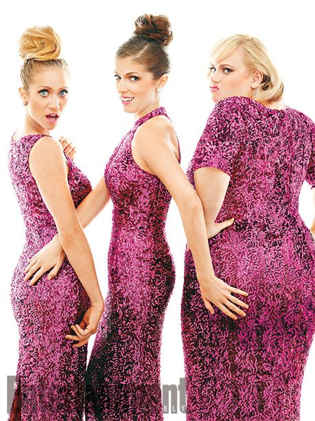 Anna Kendrick, Brittany Snow, & Rebel Wilson in Entertainment Weekly.  Photo Credit: Robert Trachtenberg for EW.