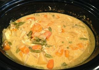 Coconut Curry Crockpot Recipe.