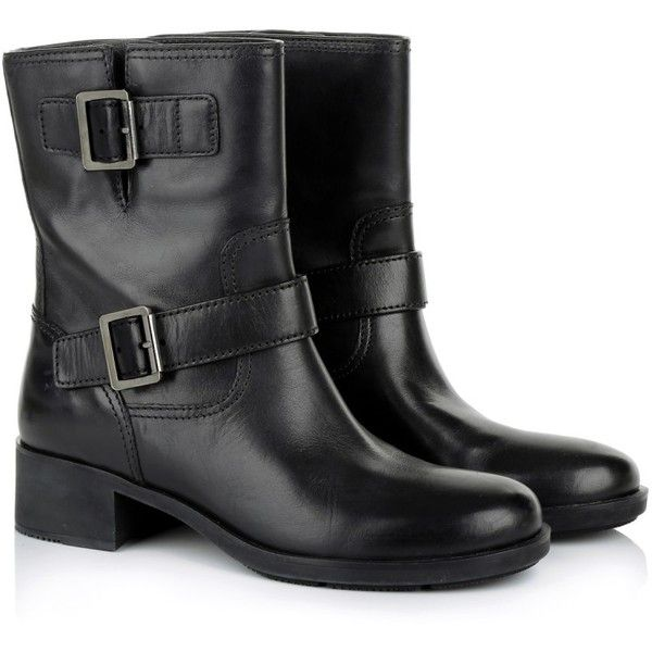 Prada Boots & Booties, ($670) ❤ liked on Polyvore featuring shoes, boots, ankle booties, ankle boots, black, rubber ankle boots, block-heel ankle boots, short boots, rubber boots and black boots