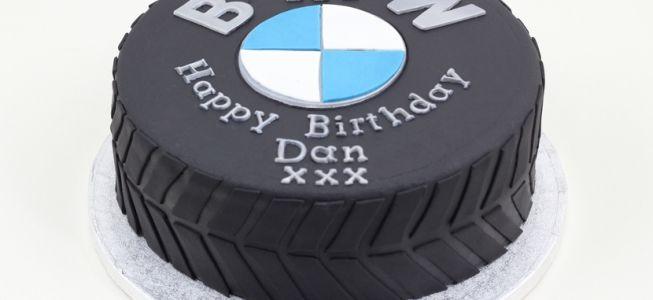BMW Tyre cake