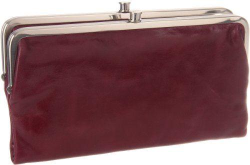 "Hobo Lauren VI-3385BOR Wallet,Bordeaux,One Size HOBO. $94.99. clasp closure. Linings vary seasonally. 4.75"" high. Printed plainweave lining. leather. 8.75"" wide"