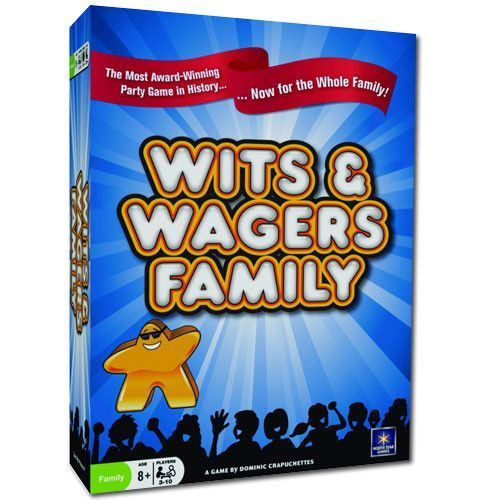 North Star Games TNSG-01 Wits & Wagers Family