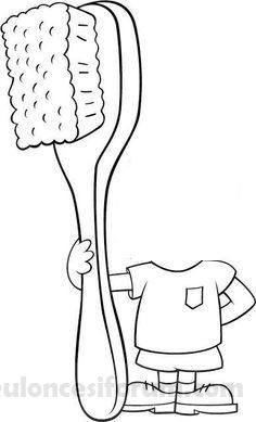 Diş Fırçam Erkek Etkinlik Igiene Personale Corpo Umano Ve Attività