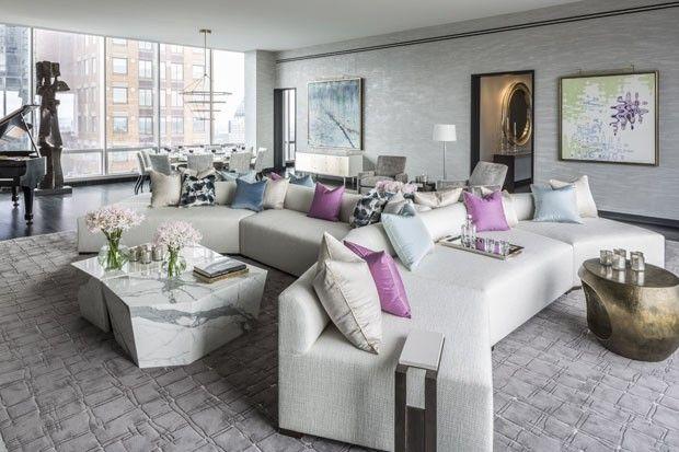 Ricca Divulgação, Casa Sala, Sonhos, Nova Iorque Penthouse, Apartamentos De  Luxo, Casas De Luxo, Penthouse Caro, Interiores Deslumbrantes, ...